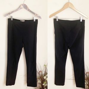 MM Lafleur black stretch skinny dress suit pants 6